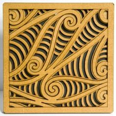 Wooden Rua Tile Art A contemporary take on a traditional Maori design called the Kowhaiwhai. Designed by Mike Carlton, this piece is called Rua, which means two in new Zealand Maori. Window Envelopes, Maori Designs, Feature Tiles, Maori Art, Tile Art, Art Sketches, Animal Print Rug, Design Elements, New Zealand