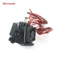 Micromake 3d Printer Parts Kossel Reprep Plastic Injection New Auto-level Effector with J-head Nozzle Full Assembly