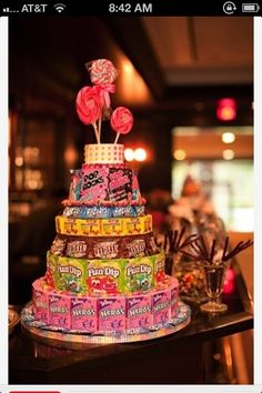 Having a kids table for the reception and will be making a centerpiece similar to this for the table.