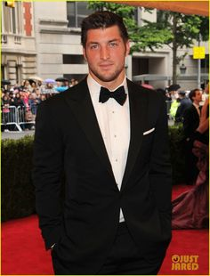 Tim Tebow suited up for the 2012 Met Ball held at the Metropolitan Museum  of Art 2f3a7957b
