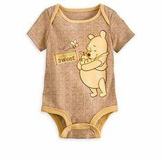 Winnie the Pooh Disney Cuddly Bodysuit for Baby | Disney Store