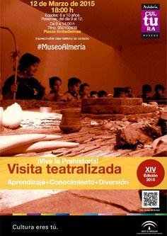 """Visita teatralizada """"Vive la Prehistoria"""" jueves, 12 de marzo, a las 18:00 h. (destinado a niños y niñas de 6 a 10 años). Reserva previa."""