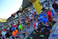 Start der  42,195 km Marathonstrecke von Mandarfen nach Imst #DachTirols #Marathon