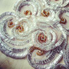Beadwork - bugle beads