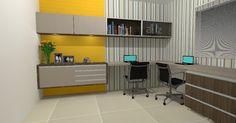 Projeto Home Office | Decor em ação Fernanda Cavalcante Quentino: Design de Interiores, projetos de interiores, projetos online, projeto de móveis, paisagismo...
