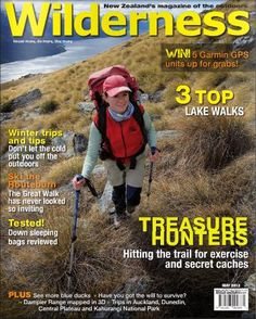Wilderness Magazine's feature article this month is all about geocaching!