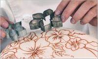 Hornee, coma, amor .: Cómo pintar sobre un pastel fondant