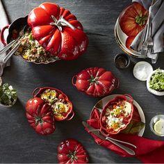 Staub Ceramic Tomato Cocotte | Williams-Sonoma AU