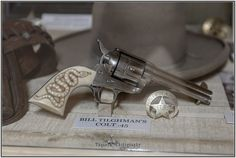 Bill TIlghman's Colt Quickdraw Model Single Action Army Revolver