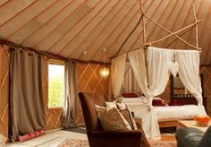 Yurt in Stratton-on-the-Fosse, Somerset