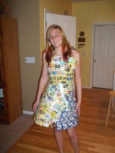 Pokemon card dress! by ~RCYT on deviantART