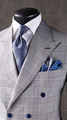 fashion style for men Sharp Dressed Man, Well Dressed Men, Dress Suits For Men, Men Dress, Mens Fashion Suits, Mens Suits, Men's Fashion, Style Masculin, Designer Suits For Men