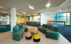 Indigenous Business Australia new office by Peckvonhartel. Collaboration Area.