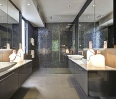 Mirrors & marble: quiet elegance. — Glamour Drops