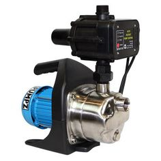 BIA-INOX120PC Constant Pressure Pump System - $492 IDEAL FOR: Clean or rainwater in a 1 to 2 storey dwelling or similar with up to 5 taps or outlets. This pump will automatically start up when a tap is opened and will turn off again with a slight delay after the tap has closed. It can be used for drinking water, filling up toilets, washing machines, dishwashers, kitchen taps, showers, irrigation systems or watering the garden.