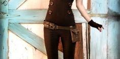 cute costume (steampunk) idea!