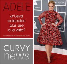Adele ¿Diseñadora de una colección Plus Size? · Curvy News