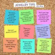 9 fun jewelry tips for jewelry owners. Have a tip to add? Leave it as a comment below! www.benbridge.com