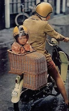 If I could only get my hands on this!! My mom had this for me when I was little and by the end of the bike-ride she would find me asleep at the bottom of the seat <3