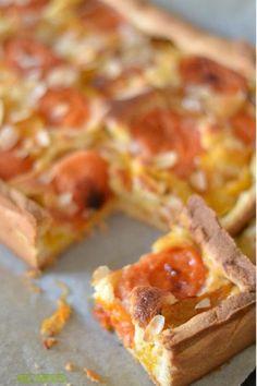 Tarte abricot/prune à la crème d'amande
