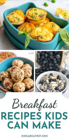 With kids heading back to school, we thought we should find some easy to make breakfast ideas. These easy breakfast recipes kids can make will allow parents to spend less time in the kitchen. I call that a win! - Kids Are A Trip #backtoschoolbreakfast #backtoschoolbreakfastideas #breakfastideasforkids #recipeskidscancook #easybreakfast #quickbreakfast Back To School Breakfast, Easy To Make Breakfast, Breakfast For Kids, Breakfast Ideas, Breakfast Recipes, Best Green Smoothie, Strawberry Banana Smoothie, Banana Oatmeal Recipe, Recipes Kids Can Make