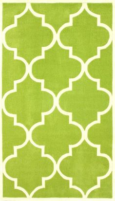 Nuloom ACR129E-508 Cine Collection Green Finish Hand Tufted Fez