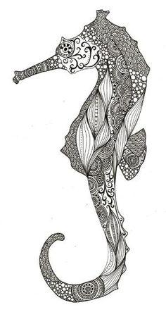 Seahorse by So Bai