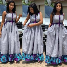 Maxi Dresses are always the height of comfort and these 12 maxi dress styles are the best! African Fashion Ankara, Latest African Fashion Dresses, African Print Fashion, Africa Fashion, Ankara Long Gown Styles, African Dresses For Women, African Attire, African Men, Dress Styles
