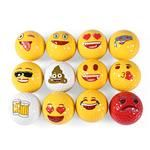 Fun, cute and colorful Emoji Golf Ball Set for every golfers bag. FOR MORE INFO CLINK THE IMAGE! #golf #golfaccessories #golfballs Funny Emoji, Golf Accessories, Cover Pics, Golfers, Golf Ball, Things That Bounce, Party Supplies, Birthday Gifts, Colorful