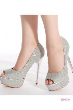Chaussure de soiree a talon aiguille