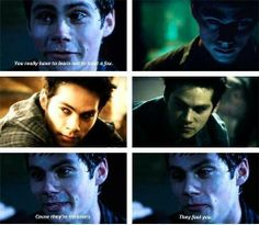 How can he be so attractive and scary all at the same time? Such a fabulous actor
