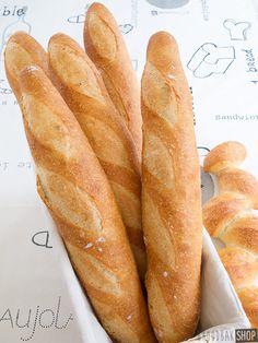 Stokbrood | Broodbakshop Dutch Recipes, Bread Recipes, Baking Recipes, Butter Bakery, Thermomix Bread, Homemade Dinner Rolls, Our Daily Bread, Bread Cake, International Recipes