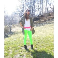 THE FASHIONAMY by Amanda Idea outfit, i colori neon di Pitusa nel 2013 via Polyvore