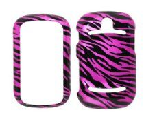 Charter Inc offer Hot Pink Zebra Strips Snap on Hard Protective Cover Case for P6010 Pantech Pursuit II + Microfiber Pouch Bag. This awesome product currently limited units, you can buy it now for  $4.95, You save - New