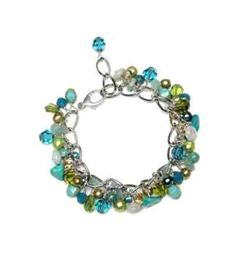 Bracelet DIY with beads, headpins and chain