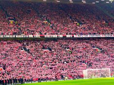 Stretford end Old Trafford