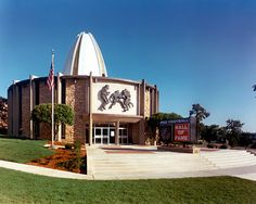 Since opening in 1963, the Pro Football Hall of Fame has grown in both size and stature.  The building was expanded in 1971, 1978 and 1995; and completed major exhibit gallery renovations in 2003, 2008, and 2009.  Improvements have transformed the original 19,000 square-foot Hall of Fame museum ...  Currently, the Hall of Fame is undergoing ... a two-year project set to be finished in 2013 in time for the Hall of Fame's 50th Anniversary. The completed building will be 118,000 square feet.
