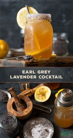 The herbal-floral notes of lavender pairwell with the suave and sophisticatedflavor of classic Earl Grey in this refreshing cocktail.The perfect beverage to serve at atea time cocktail party or afternoon reception.