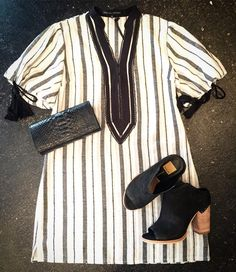 A perfect transition-to-spring dress with the all the right accessories! #tfssi #stsimonsisland #seaisland #spring2016 #ootd