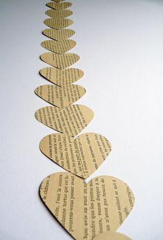 hearts - garland