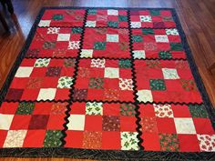Check out this item in my Etsy shop https://www.etsy.com/listing/255090090/christmas-lap-quilt-67-x-60