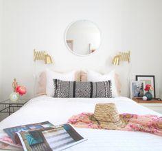 Fringed Boho Lumbar Pillow Tutorial | Francois et Moi