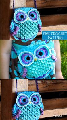 Crochet bags purses 760404718323659622 - Source by Crochet Easter, Cute Crochet, Crochet Crafts, Crochet Projects, Minion Crochet Patterns, Owl Patterns, Knitting Patterns, Owl Crochet Pattern Free, Knitting Bags