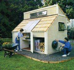 free garden shed plan