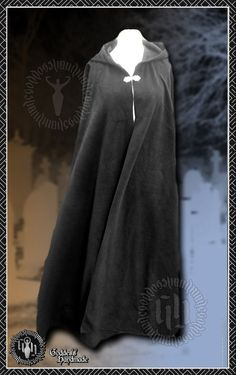 Ritual Robes Cloak Cape Pagan Druid Wicca by Creativesewandsew