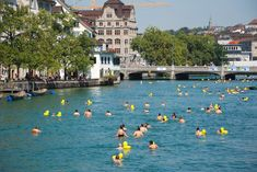 Zurich's Urban Lido Culture Lake Zurich, Palace Garden, Roman Soldiers, Wooden Cabins, Street Names, Water Tower, Old City, Swimming Pools, Objects