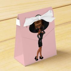African American Enjoyable Favourite Diva Birthday Celebration Favor Field. >> See even more by visiting the picture link