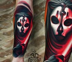 Movie tattoo by A D Pancho