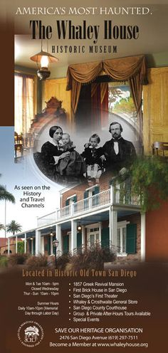 Whaley House History | History of Old Town San Diego