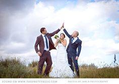 Bride groom and bestman!